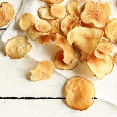 Topinamburové chipsy