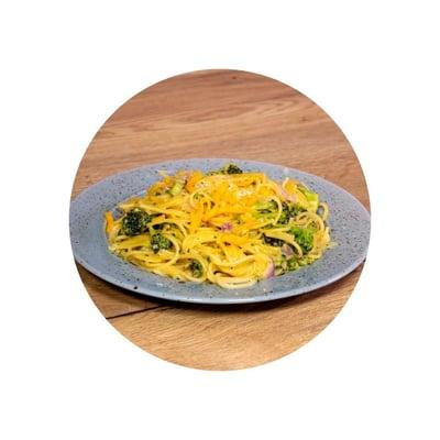 Sýrové těstoviny s brokolicí