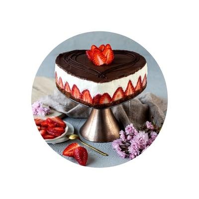 Tvarohový Míša dort