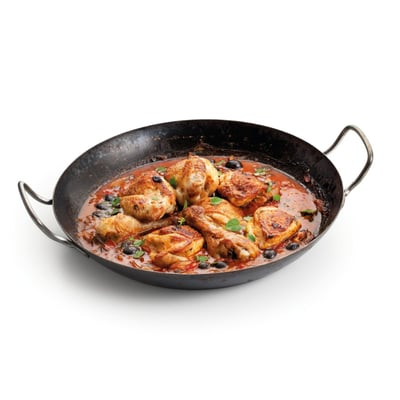 Kuře s rajčaty a olivami