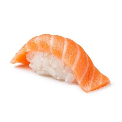 Sake nigiri - nigiri z lososa
