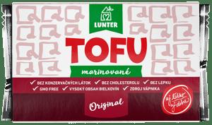 Lunter Tofu marinované