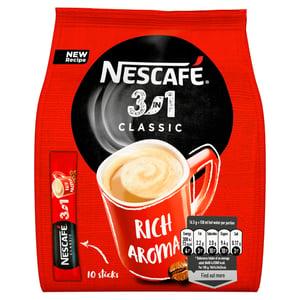 Nescafé 3v1 Classic instantní káva 10ks