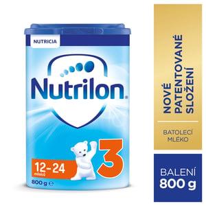Nutrilon 3 batolecí mléko, 12-24 měsíců