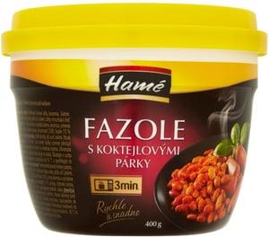 Hamé Fazole s koktejlovými párky Easycup