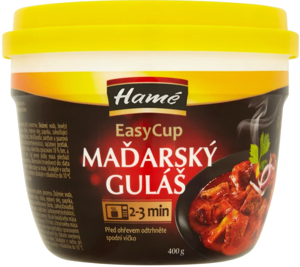 Hamé Maďarský guláš sterilované hotové jídlo EasyCup