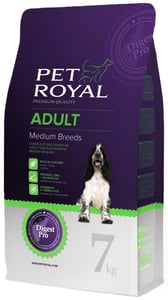 Pet Royal Adult Dog Medium Breed granule pro psy