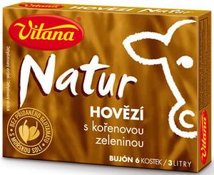 Vitana Natur bujón hovězí 3l (6x10g)