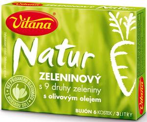 Vitana Natur bujón zeleninový 3l (6x10g)