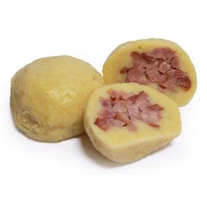 Láznička bramborový knedlík plněný uzenou vepřovou kýtou 2ks