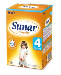 Sunar Complex 4 mléčná výživa