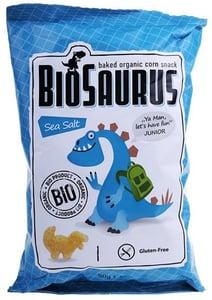 BioSaurus BIO Kukuřičný snack slaný
