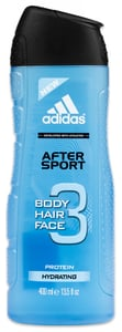 Adidas After Sport 3 v 1 sprchový gel