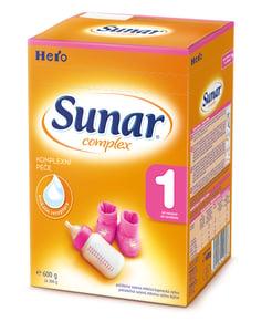 Sunar Complex 1 počáteční mléčná kojenecká výživa