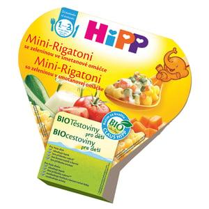 HiPP BIO Mini-Rigatoni se zeleninou ve smetanové omáčce