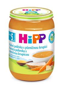 HiPP BIO Kuřecí polévka s pšeničnou krupicí