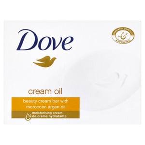 Dove krémové tuhé mýdlo s arganovým olejem