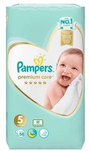 Pampers Premium Care 11kg-16kg (velikost 5) 58 ks