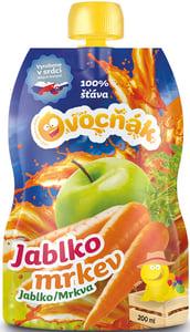Ovocňák mošt Jablko - Mrkev