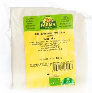 Farma Pěnčín BIO kozí sýr s brusinkou