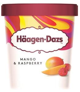 Häagen-Dazs Mango & Raspberry