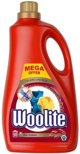 Woolite Mix Colors tekutý prací přípravek (3,6l)