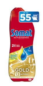 Somat Gold Lemon odmašťovací gel do myčky (990ml)