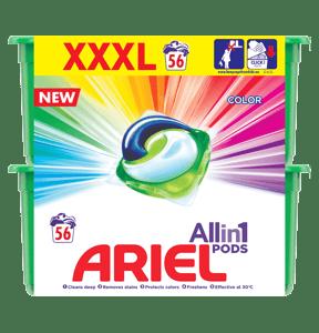 Ariel Color & Style prací kapsle 56ks