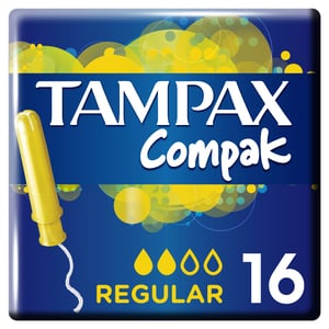 Tampax Compak Regular Tampony 16ks
