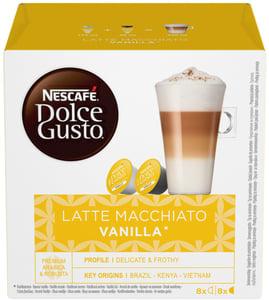 Nescafé Dolce Gusto Latte Macchiato vanilla 16ks