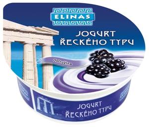 Elinas Jogurt řeckého typu ostružina