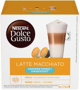 Nescafé Dolce Gusto Latte Macchiato Unsweet 16ks