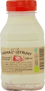 Farma Struhy BIO Jogurtový nápoj jahoda