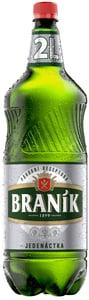 Braník pivo světlý ležák 11 PET