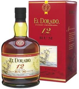 El Dorado Rum 12 YO dárkové balení 40%