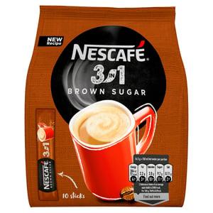 Nescafé 3v1 Brown Sugar instantní káva 10ks