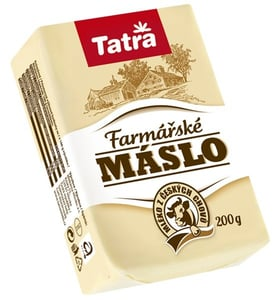 Tatra Farmářské máslo 84%