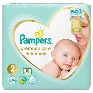 Pampers Premium Care 4kg-8kg (velikost 2) 94 ks
