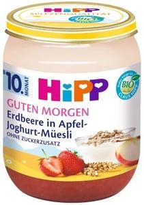HiPP BIO Ovocný příkrm müsli, jahody a jogurt