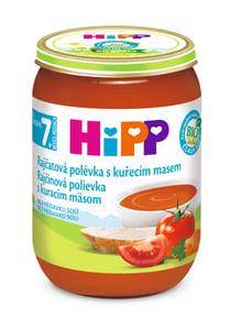 HiPP BIO Rajčatová polévka s kuřecím masem