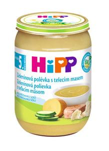 HiPP BIO Zeleninová polévka s telecím masem
