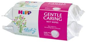 HiPP Babysanft Čistící vlhčené ubrousky 2x56ks
