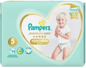 Pampers Pants Premium Value Pack (velikost 5) 34 ks