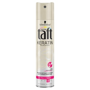 Taft Keratin Complete lak na vlasy ultra silná fixace
