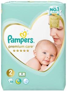 Pampers Premium Care Mini 4kg-8kg  (velikost 2) 68 ks