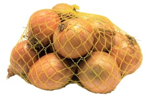 Cibule žlutá, síť