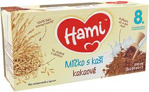 Hami mlíčko s kaší kakaové