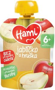 Hami 100% ovocná kapsička Jablíčko a hruška