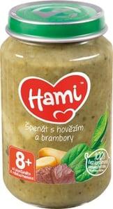 Hami příkrm Špenát s hovězím a brambory