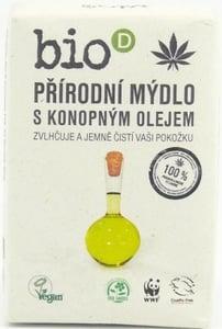 Bio-D BIO Mýdlo s konopným olejem